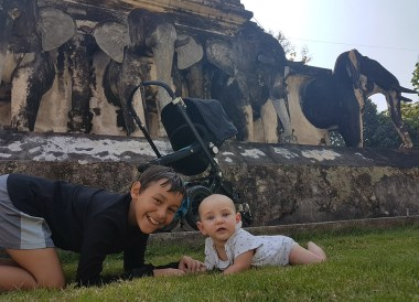 Learning to Crawl, Living in Chiang Mai Thailand