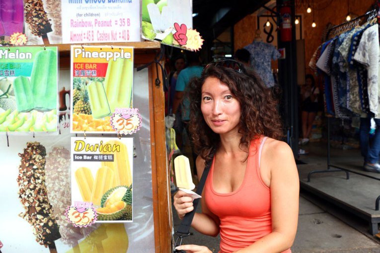 Alya of Sting Nomads, Best Markets in Bangkok for Tourists