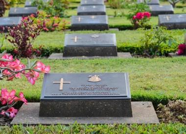 War Cemetery, Day Trip Bangkok to Kanchanaburi Tour, Thailand