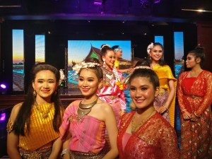 Thai Show on Boat, Asia and Indian Ocean Cruise Diaries Around the world