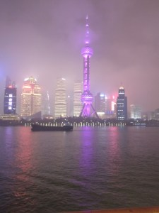 Shanghai at Night, Asia and Indian Ocean Cruise Diaries Around the world