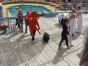 Neptune God of the Sea, French Polynesia Pacific Cruise Round the World Cruise