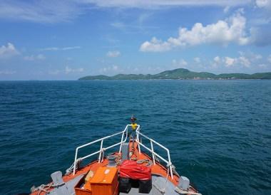 30 Baht Ferry, Bangkok to Koh Larn Island Pattaya Thailand