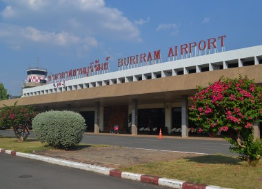 Buriram Airport. Top Tourist Attractions in Buriram Thailand