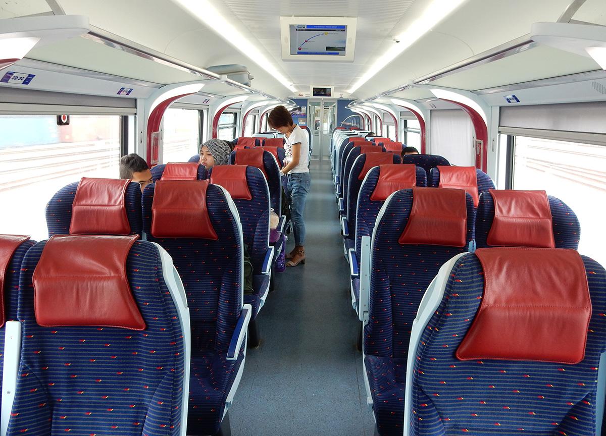 singapore to kuala lumpur train how long