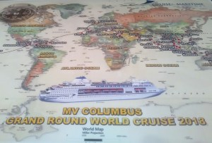 Cruise and Maritime Around the World Cruise in 120 Days 5 Continents