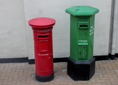 Colombo Post Boxes, 1 day Sightseeing in Colombo Sri Lanka