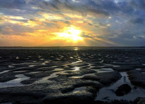Low Tide Brightlingsea, Best Seaside Towns in Britain UK