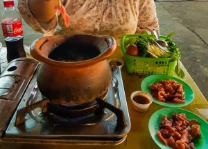 Thai Hot Pot, Thai Street Food Backpackers Favourite Snacks in Thailand
