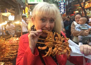 Deep Fried Crab, Best Asian Street Food Eating Cheap in Asia
