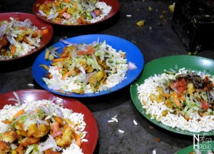 Jhalmuri Indian Salad, Best Asian Street Food Eating Cheap in Asia