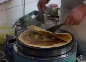 Jian Bing China, Best Asian Street Food Eating Cheap in Asia