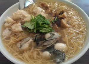 Pork Intestine Soup, Best Asian Street Food Eating Cheap in Asia