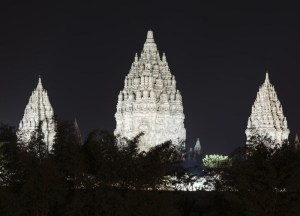 Prambanan temple at night, Best places to visit in Indonesia for tourists