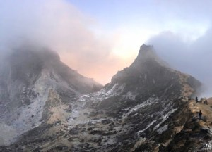 Sunrise at Mount Sibayak, Best places to visit in Indonesia for tourists