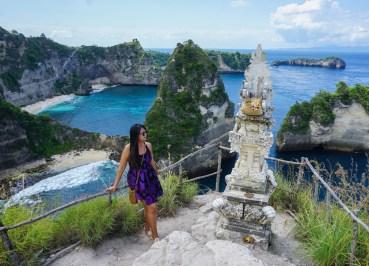 Tree House by Diamond Beach Nusa Penida Island in Bali Indonesia