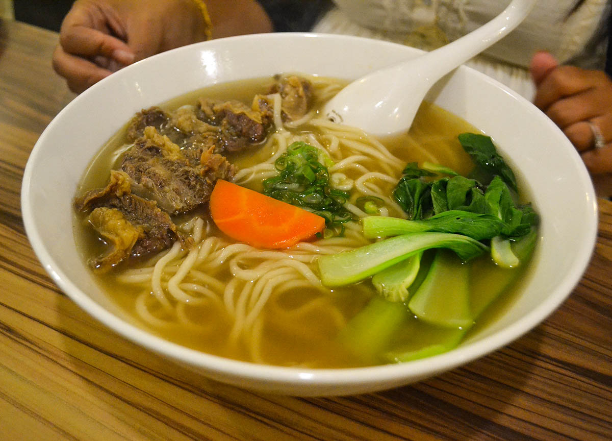Beef Noodle Soup What to Eat in Ximending Food Taipei Taiwan