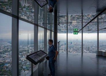 King Power Mahankhon Tallest Building in Bangkok Chong Nonsi Skytrain