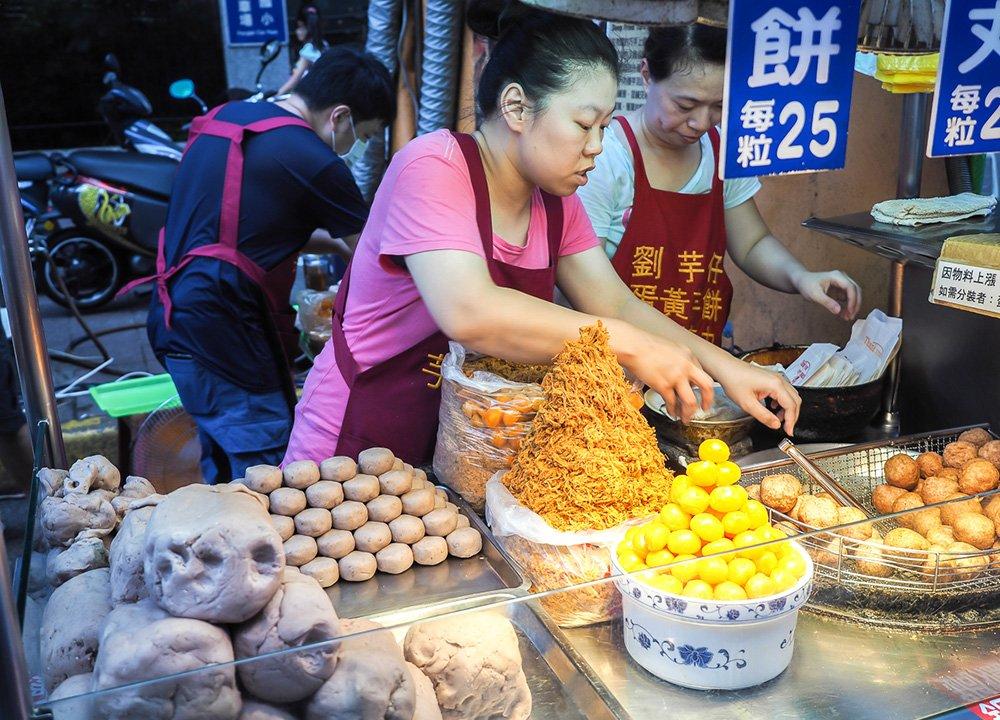 1-taro-balls-Regional-Street-Food-in-Taiwan