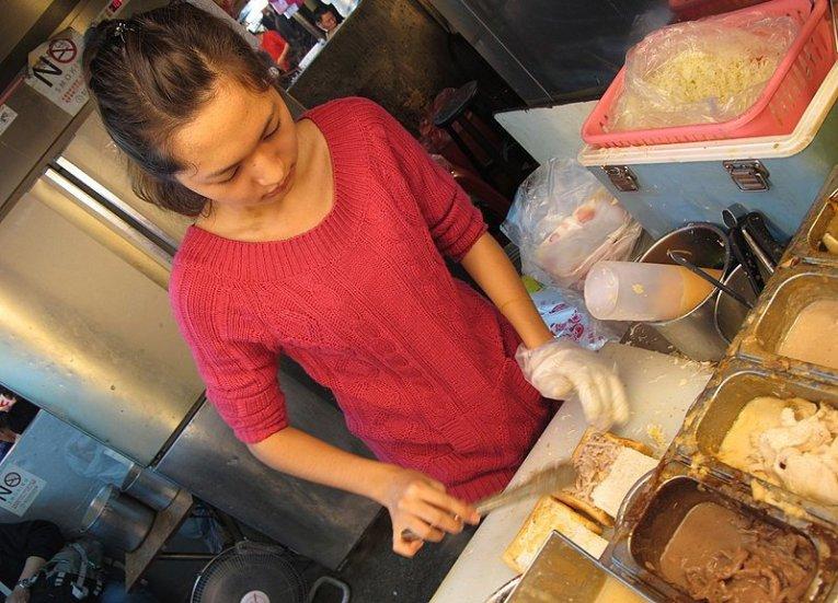 17. Coffin Bread Regional Street Food in Taiwan