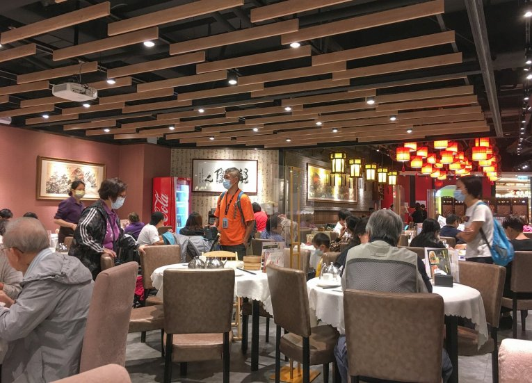 Typical Dim Sum Restaurant In Hong Kong. Introduction to Dim Sum In Hong Kong