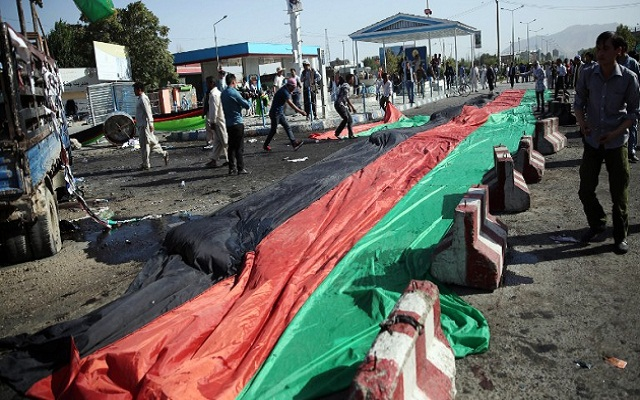LLL - Live and Let Live - ISIS terrorists claims responsibility for the bombing-suicide attack in Kabul that left 4 people dead, injured 13