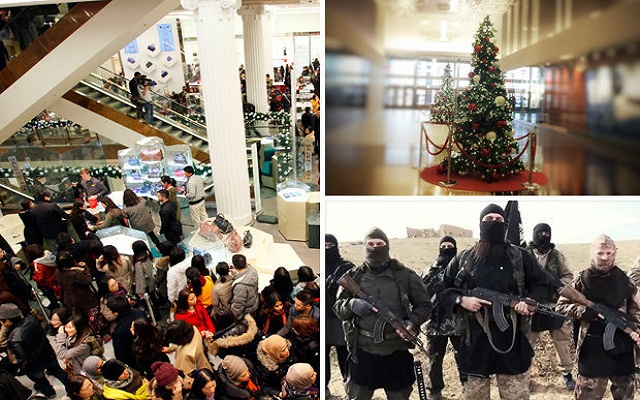 LLL-Live Let Live-Christmas terror THREAT ISIS is planning to attack British shopping centers