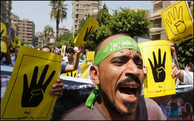 Muslim Brotherhood provides financial support for terrorist activities in Cairo, Egypt