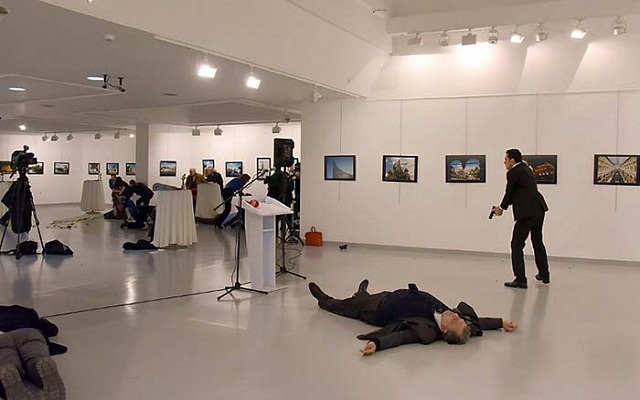 LLL-Live Let Live-Turkey assassin of the Russian Ambassador in Ankara had books linked to the terrorist group Al-Qaeda