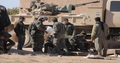 LLL-Live Let Live-ISIS attacks YPG security centre west of Raqqa, killing 3 Kurdish security forces