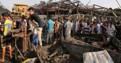 LLL-Live Let Live-Suicide car bomb driven by ISIS kills 39, and wounding 57 people in busy market place in Baghdad