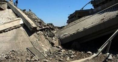 LLL-Live Let Live-Islamic State terrorists blow up bridge in western Anbar Province