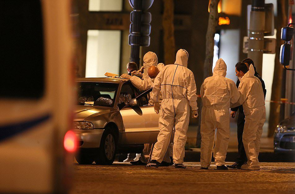 LLL-Live Let Live-Forensical unit on the crime scene