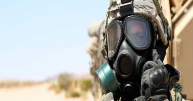 LLL-Live Let Live-Experts: ISIS has chemical weapons and uses them on the battlefield