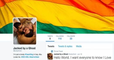 LLL-Live Let Live-ISIS threatens to behead hacker who flooded their Twitter accounts with gay porn
