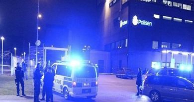 LLL-Live Let Live-Homemade bomb attack at police station in Sweden