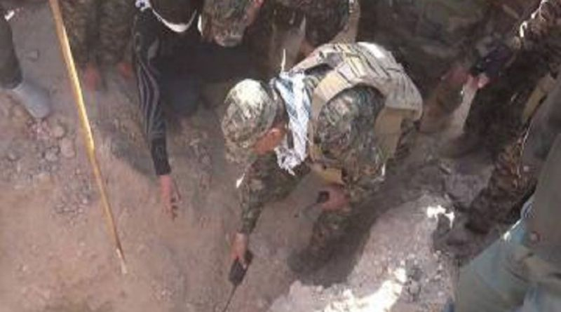 LLL-Live Let Live-Mass grave of Islamic State terrorist group members bodies found in Diyala