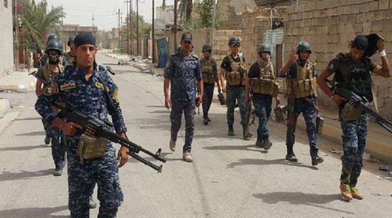 LLL-Live Let Live-Policemen is injured in sniper attack by Islamic State terrorists in Baqubah