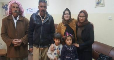 LLL-Live Let Live-Two Kurdish Yezidi children freed from ISIS captivity