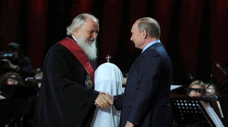 LLL-Live Let Live-Islamic State terrorist group targets Russian Orthodox Church and Vladimir Putin