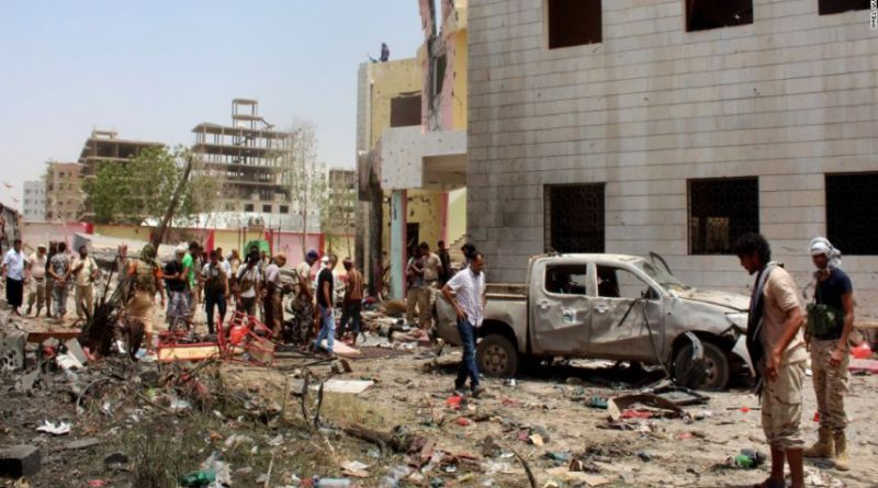 LLL - Live Let Live - ISIS terrorists claim responsibility for Yemen military kitchen bomb attack