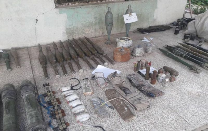 LLL-Live Let Live-ISIS weapon hideaway full of weapons discovered in the northern parts of Iraq 2