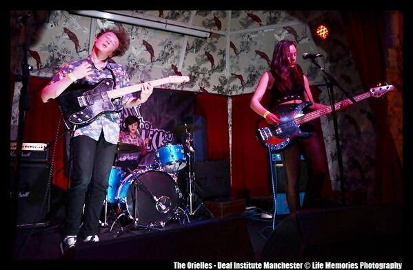 The Orielles performing at The Deaf Institute April 2014