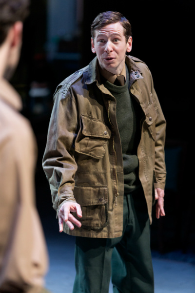 Gerard Kearns made his return to the Royal Exchange Theatre after his previous performance in The Accrington Pals