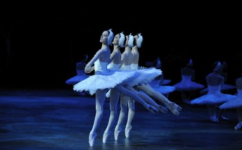 Swan Lake by the English National Ballet. image courtesy of Laurent Liotardo.