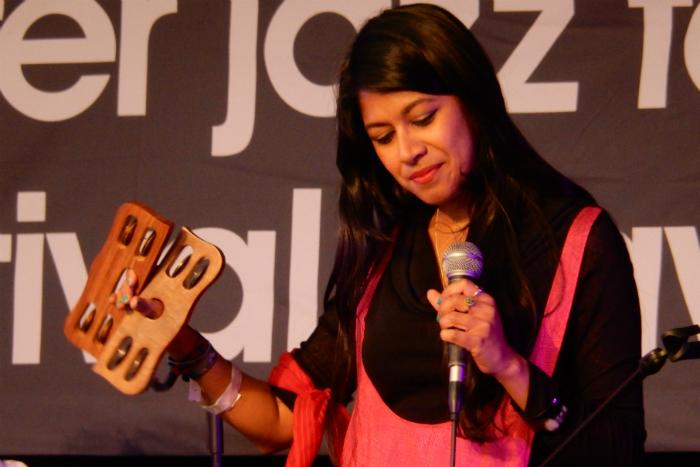 image of Shama Rahman at Manchester Jazz Festival 2015