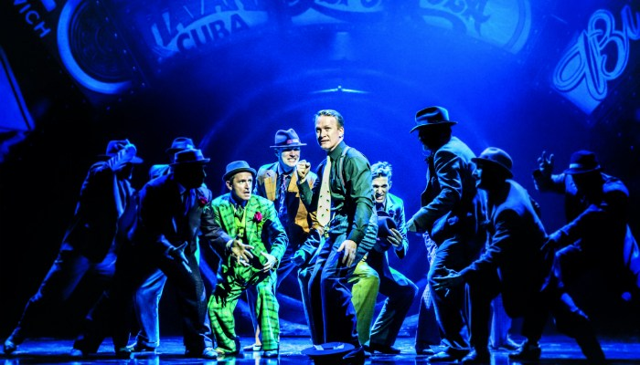 image of Jamie Parker (Sky Masterson) in Guys and Dolls - photo by Johan Persson