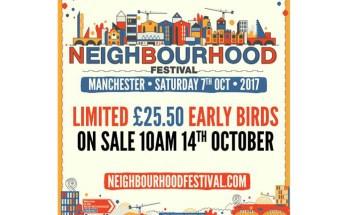Neighbourhood Festival 2017 poster
