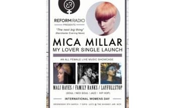 Reform Radio's International Women's Day Showcase poster
