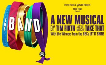 The Band The Musical banner premieres at Manchester Opera House